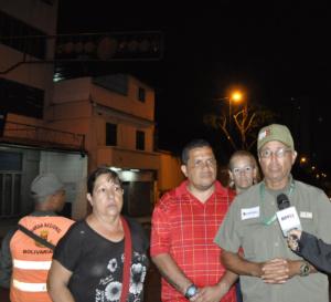 Foto: Motta agradeció la labor de los trabajadores de Corpoelec / Yolimar Requena