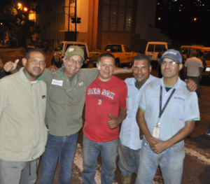 """Foto: Motta, """"Líderes comunitarios se acercaron y dieron su apoyo para la reactivación del servicio"""" / Yolimar Requena"""
