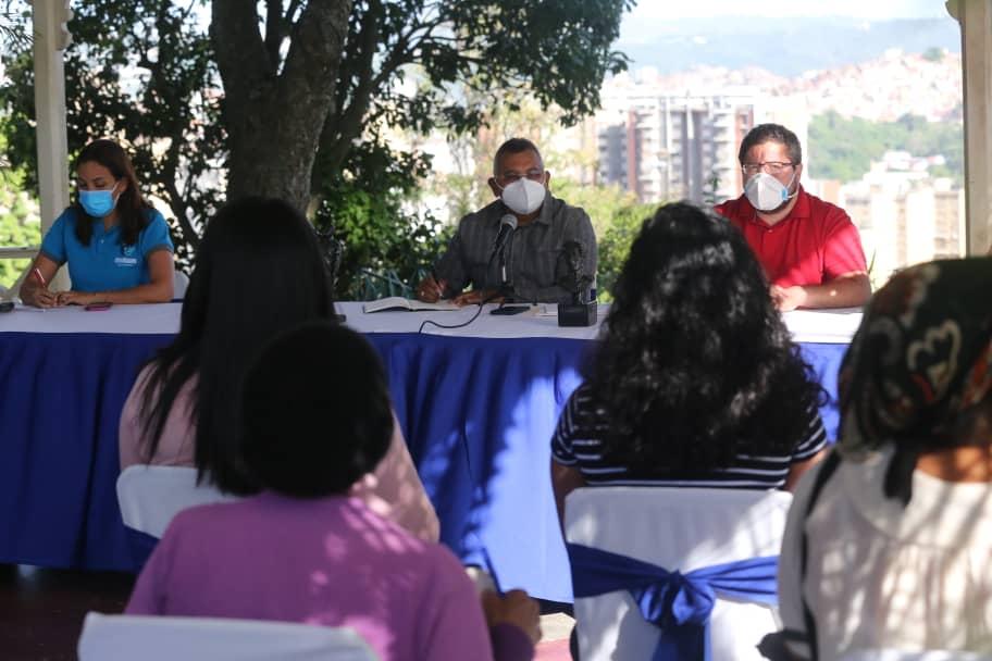 Establecen acciones para rehabilitar sistema hídrico en cinco parroquias de Caracas